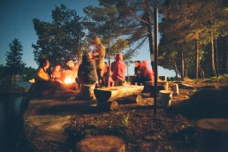 Camping group